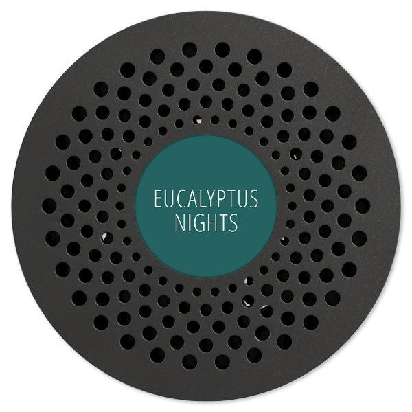 Az eukaliptusz éjszaka egy stimuláló fűszerek, erőteljes és gondolatgazdag.