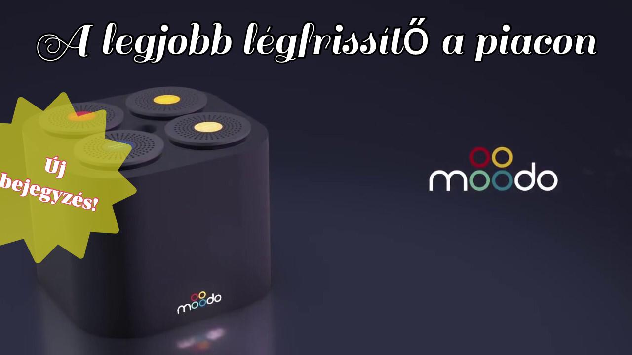 A Moodo a legjobb légfrissítő