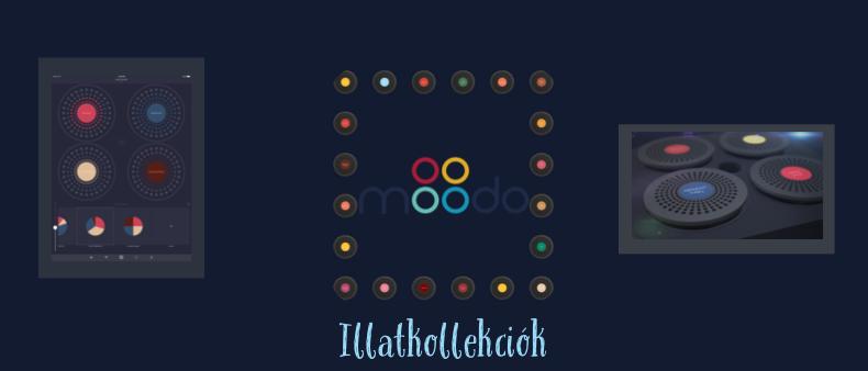 Moodo-illatkollekció